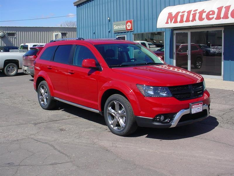 2017 Dodge Journey Crossroad Plus AWD 4dr SUV