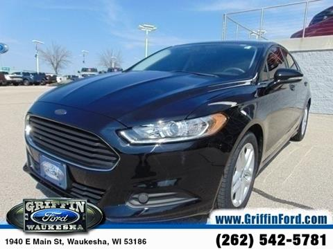 2016 Ford Fusion for sale in Waukesha, WI