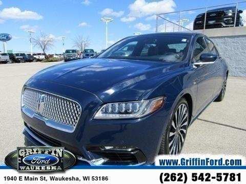 2017 Lincoln Continental for sale in Waukesha, WI