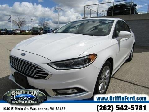 2017 Ford Fusion for sale in Waukesha, WI