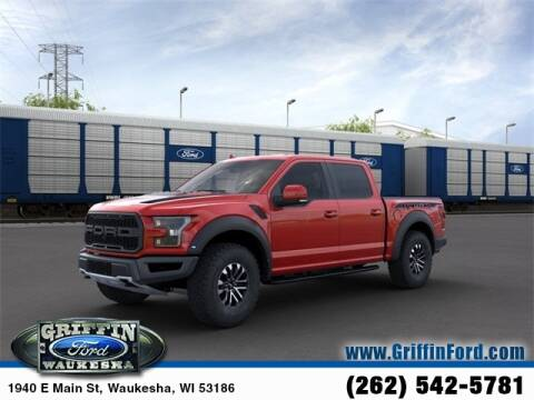 2020 Ford F-150 Raptor for sale at GRIFFIN FORD LINCOLN MERCURY - GRIFFIN FORD in Waukesha WI