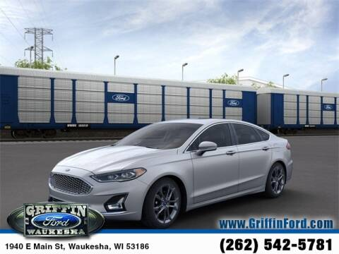 2020 Ford Fusion Hybrid Titanium for sale at GRIFFIN FORD LINCOLN MERCURY - GRIFFIN FORD in Waukesha WI