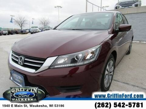 2015 Honda Accord LX for sale at GRIFFIN FORD LINCOLN MERCURY - GRIFFIN FORD in Waukesha WI