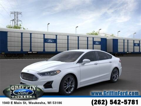 2020 Ford Fusion SEL for sale at GRIFFIN FORD LINCOLN MERCURY - GRIFFIN FORD in Waukesha WI
