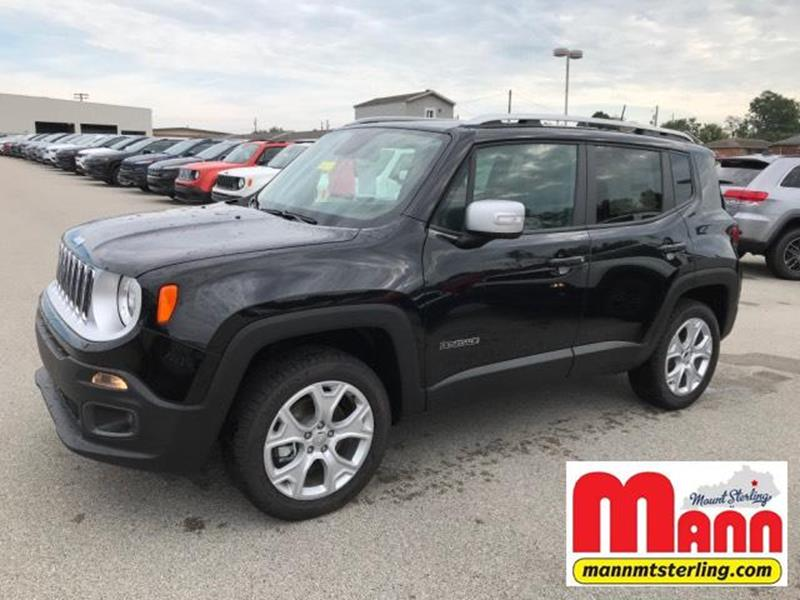 2018 Jeep Renegade 4x4 Limited 4dr Suv In Mt Sterling Ky Mann