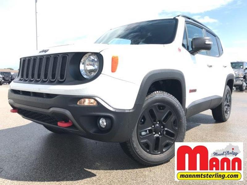 2018 Jeep Renegade 4x4 Trailhawk 4dr Suv In Mt Sterling Ky Mann