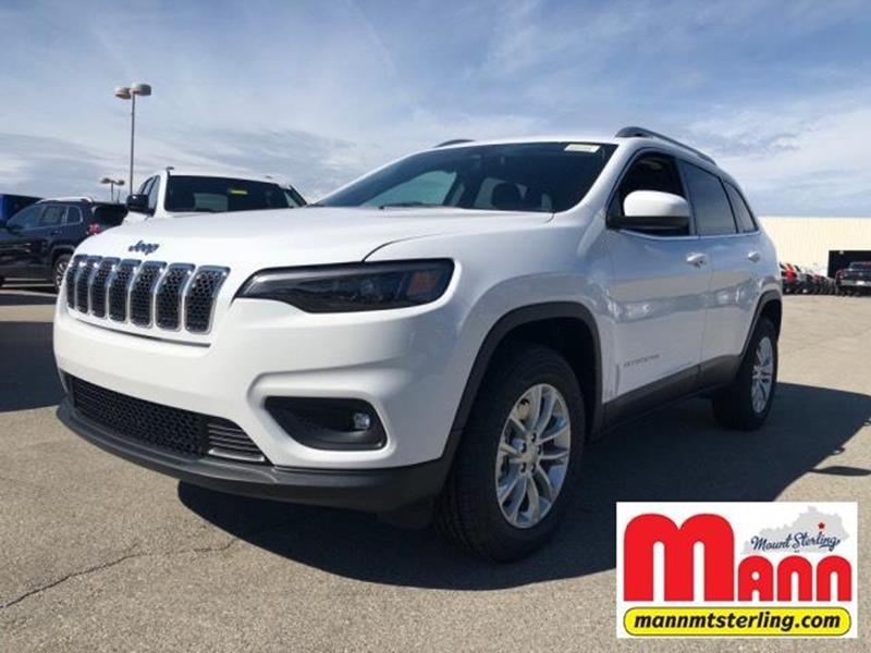 2019 Jeep Cherokee 4x4 Latitude 4dr Suv In Mt Sterling Ky Mann