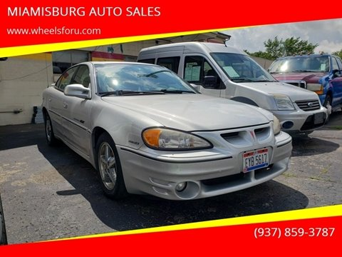 2001 Pontiac Grand Am for sale in Miamisburg, OH