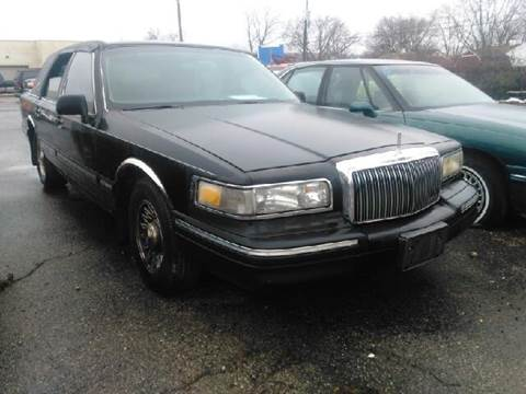 1997 lincoln town car for sale ohio. Black Bedroom Furniture Sets. Home Design Ideas
