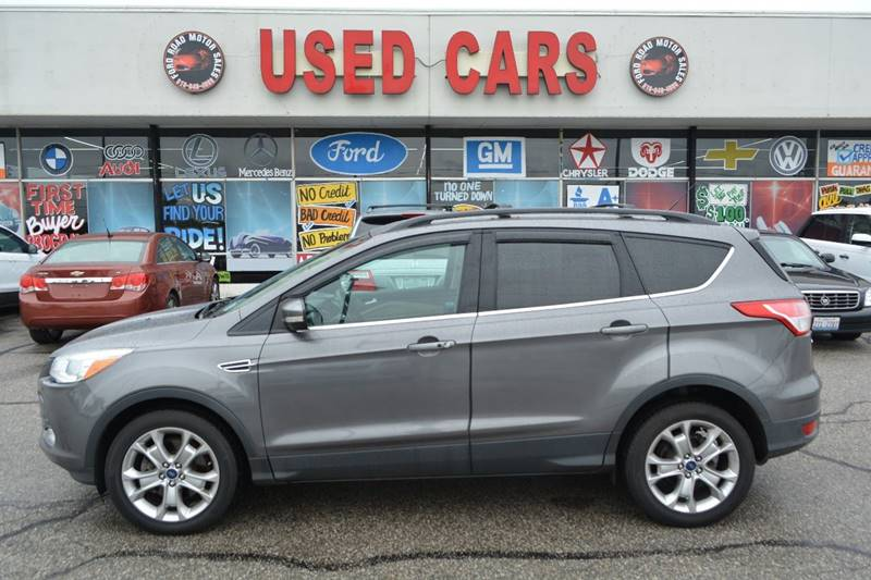 2013 Ford Escape 73323 Miles $12995 & Ford Road Motor Sales - Used Cars - Dearborn MI Dealer markmcfarlin.com