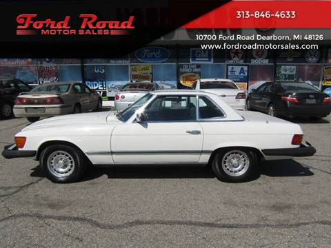 1978 Mercedes-Benz 450 SL for sale at Ford Road Motor Sales in Dearborn MI
