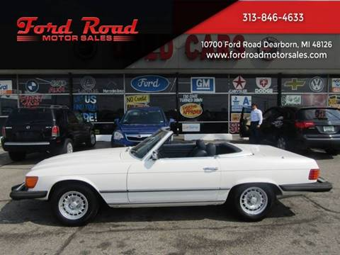 1980 Mercedes-Benz 450 SL for sale at Ford Road Motor Sales in Dearborn MI