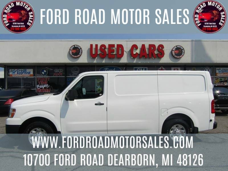 2013 Nissan NV Cargo For Sale At Ford Road Motor Sales In Dearborn MI