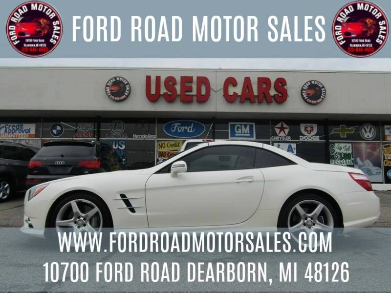 2014 Mercedes Benz SL Class For Sale At Ford Road Motor Sales In Dearborn
