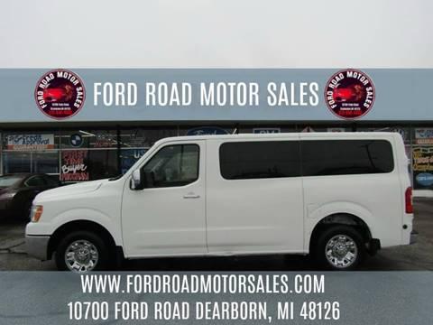 2016 Nissan NV Passenger for sale in Dearborn, MI