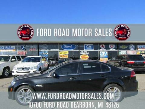 2009 Pontiac G8 for sale in Dearborn, MI
