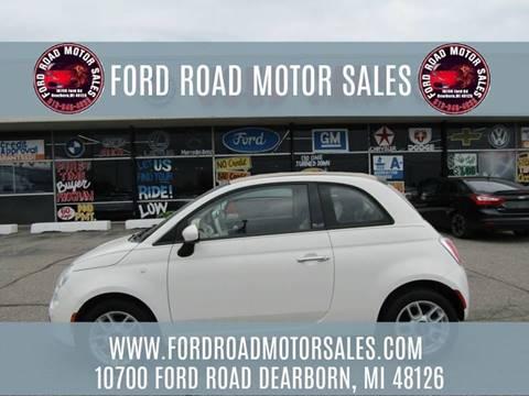2012 FIAT 500c for sale in Dearborn, MI