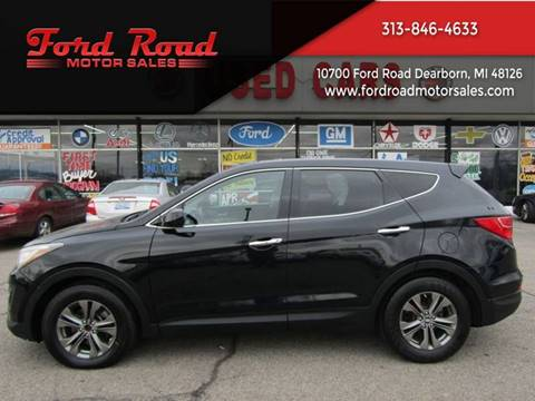 2014 Hyundai Santa Fe Sport for sale at Ford Road Motor Sales in Dearborn MI