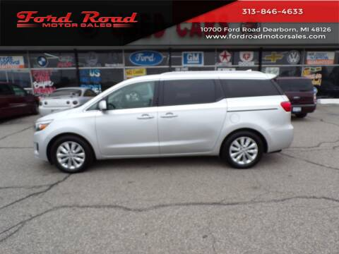 2016 Kia Sedona for sale at Ford Road Motor Sales in Dearborn MI