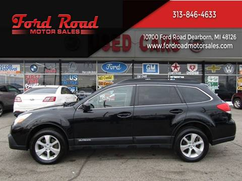 2014 Subaru Outback for sale at Ford Road Motor Sales in Dearborn MI