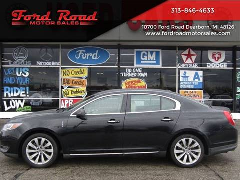 2013 Lincoln MKS for sale at Ford Road Motor Sales in Dearborn MI