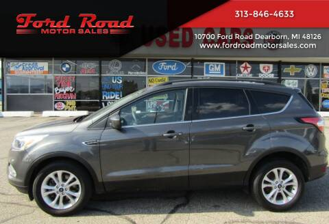 2018 Ford Escape for sale at Ford Road Motor Sales in Dearborn MI