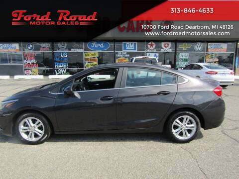 2017 Chevrolet Cruze for sale at Ford Road Motor Sales in Dearborn MI