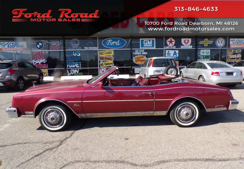 1984 Buick Riviera for sale at Ford Road Motor Sales in Dearborn MI