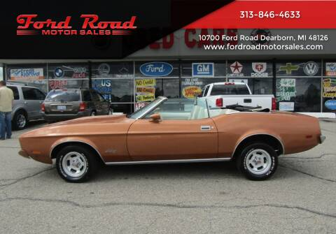1973 Ford Mustang for sale at Ford Road Motor Sales in Dearborn MI