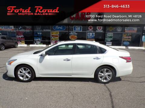 2014 Nissan Altima for sale at Ford Road Motor Sales in Dearborn MI