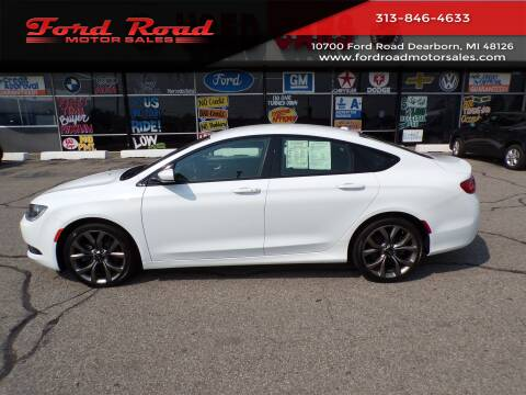 2016 Chrysler 200 for sale at Ford Road Motor Sales in Dearborn MI