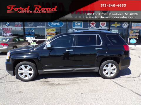 2016 GMC Terrain for sale at Ford Road Motor Sales in Dearborn MI
