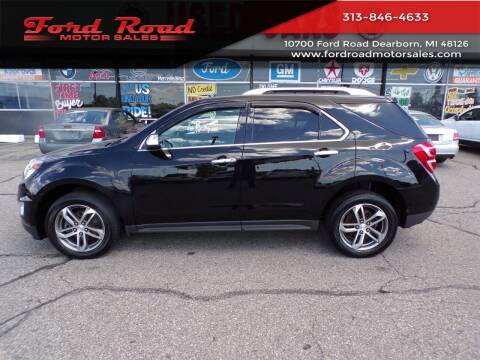 2017 Chevrolet Equinox for sale at Ford Road Motor Sales in Dearborn MI