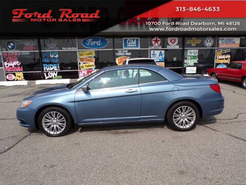 2011 Chrysler 200 Convertible for sale at Ford Road Motor Sales in Dearborn MI