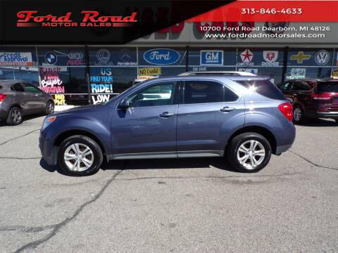 2013 Chevrolet Equinox for sale at Ford Road Motor Sales in Dearborn MI