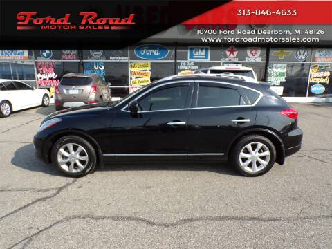2010 Infiniti EX35 for sale at Ford Road Motor Sales in Dearborn MI