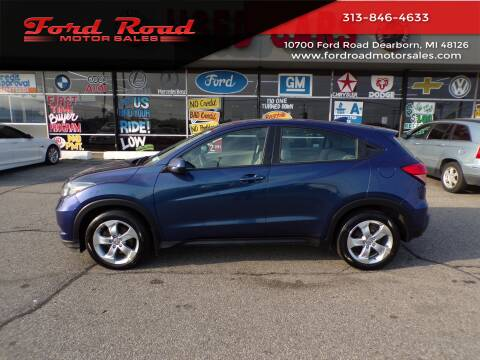 2016 Honda HR-V for sale at Ford Road Motor Sales in Dearborn MI