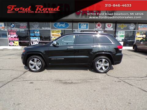 2014 Jeep Grand Cherokee for sale at Ford Road Motor Sales in Dearborn MI