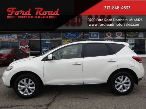 2011 Nissan Murano for sale at Ford Road Motor Sales in Dearborn MI