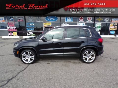 2012 Volkswagen Tiguan for sale at Ford Road Motor Sales in Dearborn MI