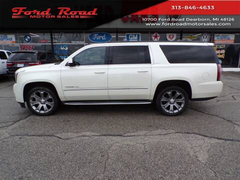 2015 GMC Yukon XL for sale at Ford Road Motor Sales in Dearborn MI