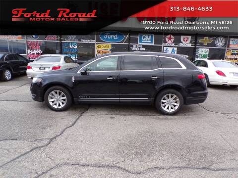 2017 Lincoln MKT Town Car for sale at Ford Road Motor Sales in Dearborn MI