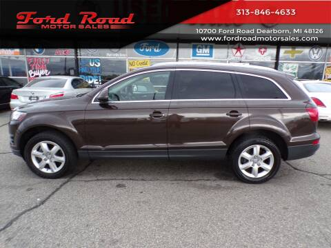 2012 Audi Q7 for sale at Ford Road Motor Sales in Dearborn MI