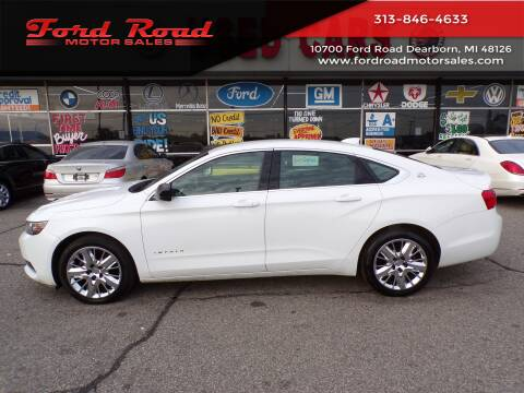 2015 Chevrolet Impala for sale at Ford Road Motor Sales in Dearborn MI