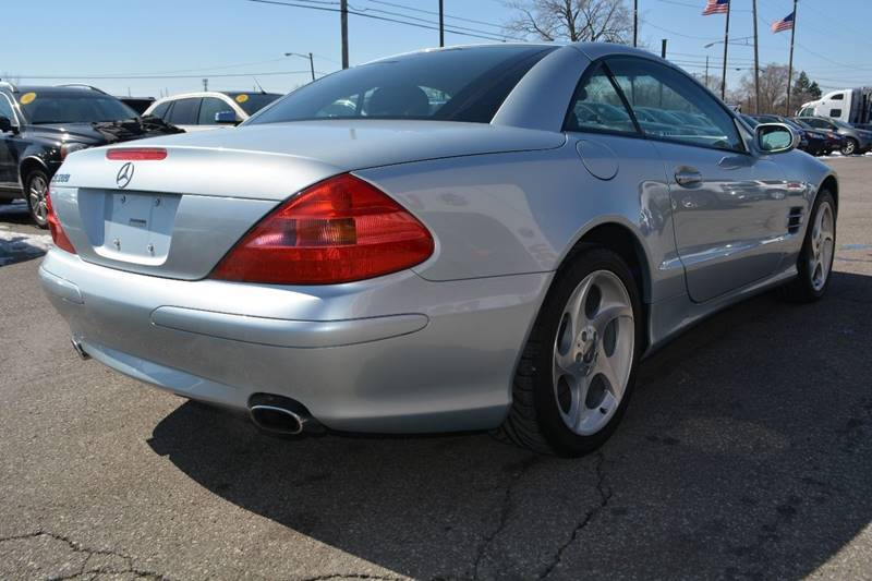 2003 Mercedes-Benz SL-Class SL 500 2dr Convertible - Dearborn MI