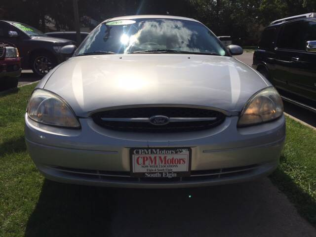 2001 Ford Taurus SES 4dr Sedan - Elgin IL