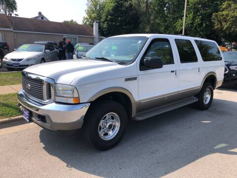 2002 Ford Excursion for sale at CPM Motors Inc in Elgin IL