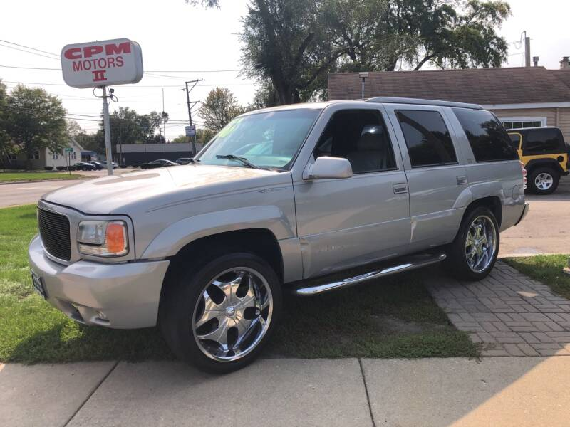 1999 GMC Yukon for sale at CPM Motors Inc in Elgin IL