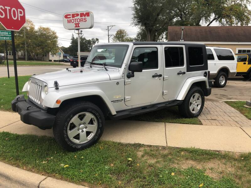 2007 Jeep Wrangler Unlimited for sale at CPM Motors Inc in Elgin IL