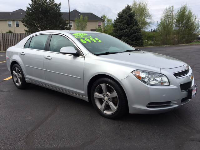 2011 Chevrolet Malibu LT 4dr Sedan w/1LT - South Elgin IL